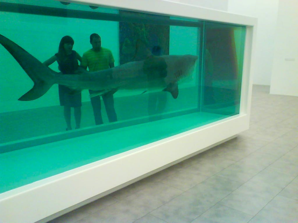 Death Denied (2008) by Damien Hirst