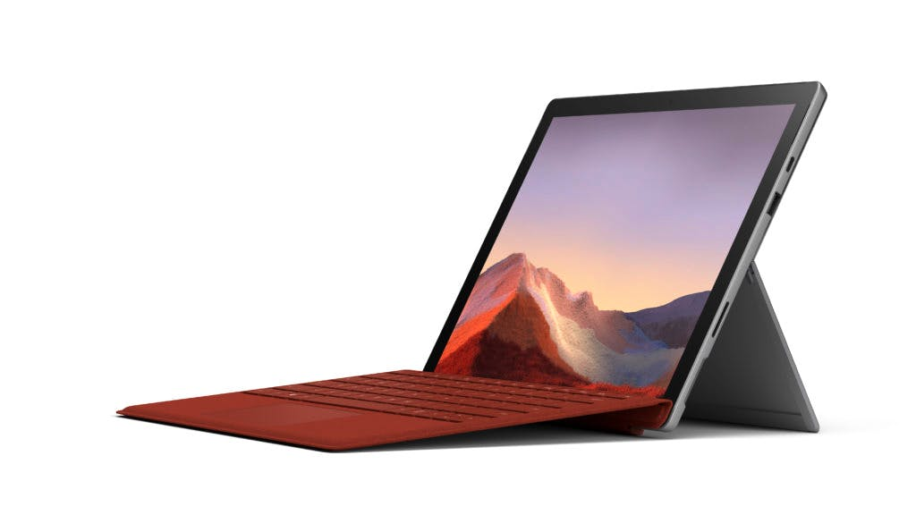 Our pick of the best tablets for writers: the Microsoft Surface Pro 7