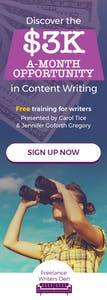Discover the $3k/month opportunity in freelance writing